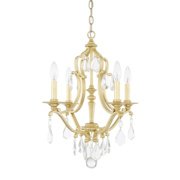 Capital Lighting Blakely Collection 4-light Capital Gold Chandelier