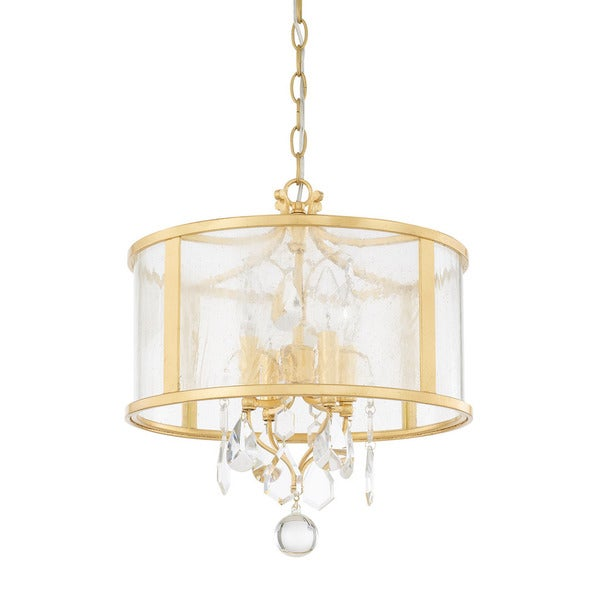 Capital Lighting Blakely Collection 4-light Capital Gold Pendant