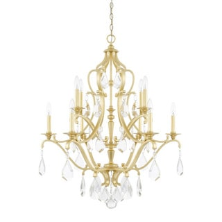 Capital Lighting Blakely Collection 10-light Capital Gold Chandelier