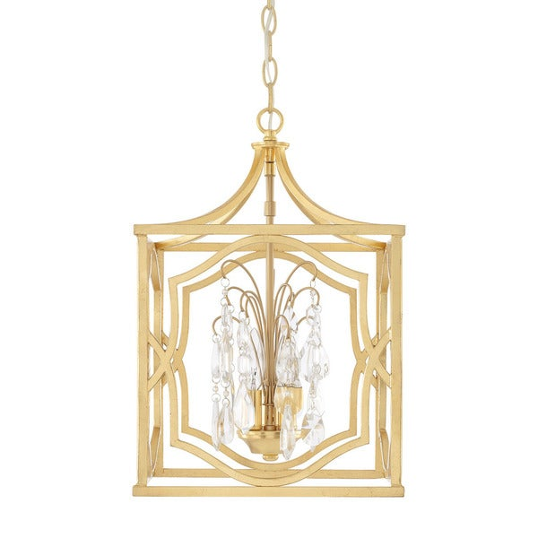 Capital Lighting Blakely Collection 3-light Capital Gold Foyer Pendant