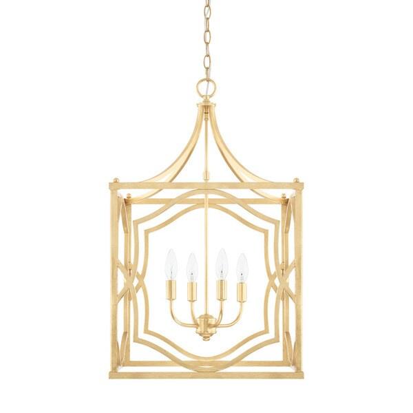 Capital Lighting Blakely Collection 4-light Capital Gold Foyer Pendant