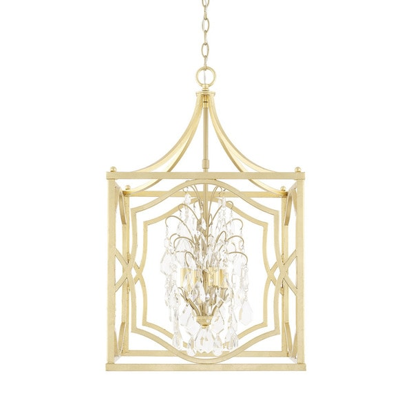 Capital Lighting Blakely Collection 4-light Capital Gold Foyer Pendant