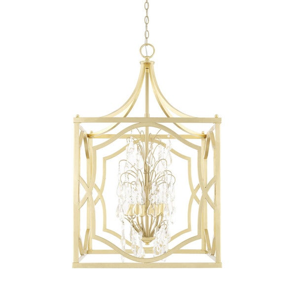 Capital Lighting Blakely Collection 6-light Capital Gold Foyer Pendant