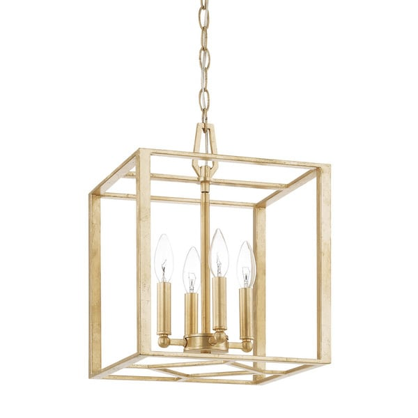 Capital Lighting Donny Osmond Regan Collection 4-light Capital Gold Foyer Pendant