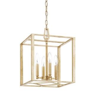 Capital Lighting Donny Osmond Regan Collection 4-light Capital Gold Foyer Pendant