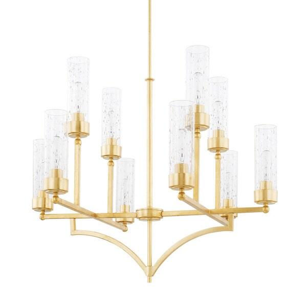 Capital Lighting Donny Osmond Regan Collection 10-light Capital Gold Chandelier