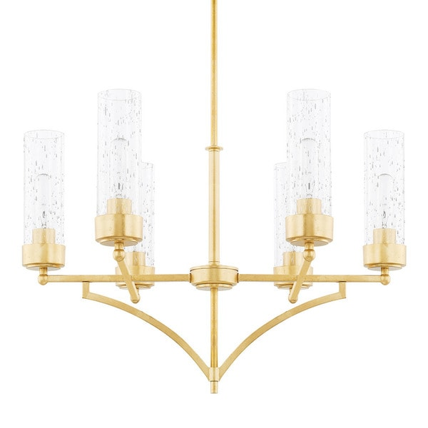 Capital Lighting Donny Osmond Regan Collection 6-light Capital Gold Chandelier