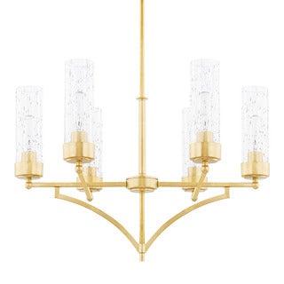 Capital Lighting Donny Osmond Regan Collection 6-light Capital Gold Chandelier