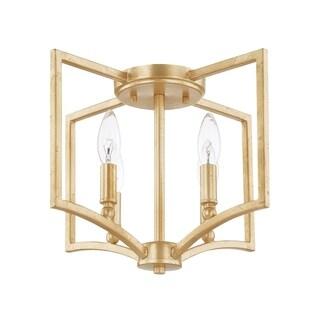 Capital Lighting Donny Osmond Regan Collection 4-light Capital Gold Pendant/Flush Mount