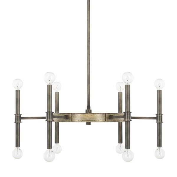 Capital Lighting Donny Osmond Gavin Collection 12-light Iron/Gold Chandelier