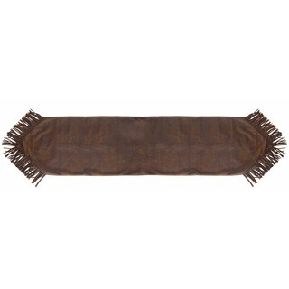 HiEnd Accents Faux Leather Runner 16 X 72