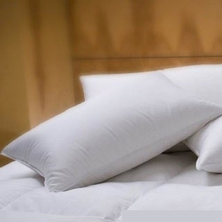 1221 Bedding Luxurious Cotton Sateen Down Alternative Pillow (Set of 2)