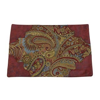 HiEnd Accents San Angelo Red/ Gold 14x20-inch Placemats (Set of 4)|https://ak1.ostkcdn.com/images/products/15997437/P22391467.jpg?impolicy=medium