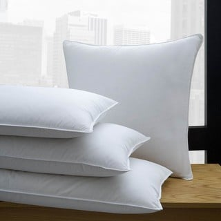 1221 Bedding 650 Fill Power White Down Pillow (Set of 2)