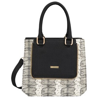 Mellow World Alexandra Snakeskin Mini Tote Bag