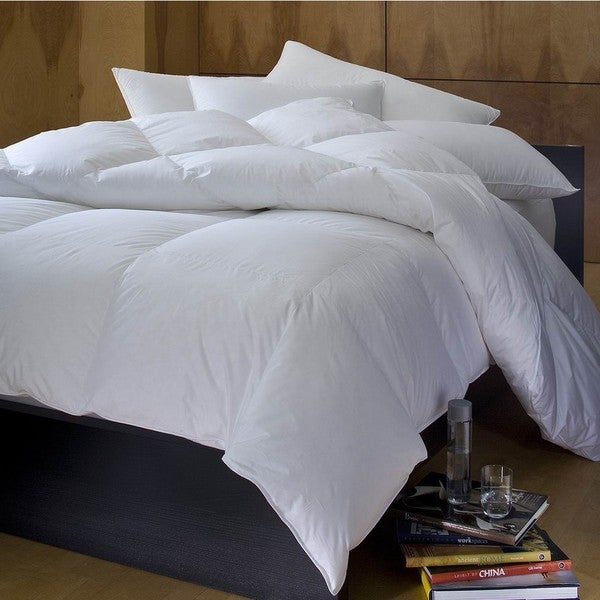 1221 Bedding Cambric Cotton White Down Comforter