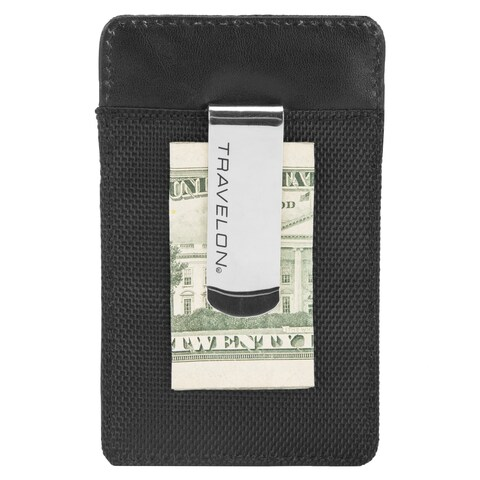 Travelon RFID Blocking Money Clip Wallet