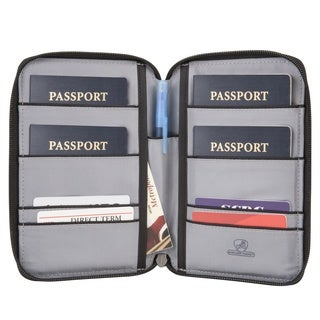 Travelon RFID Blocking Multi-Passport Holder