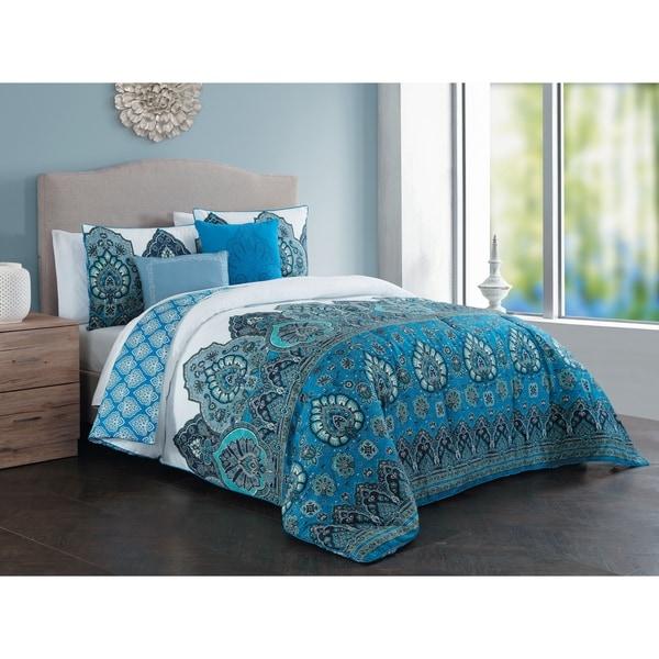 Avondale Manor Livia Multicolored 5-piece Comforter Set