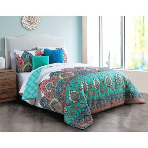 Livia Reversible Bohemian Comforter Set