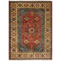 ecarpetgallery Finest Gazni Brown Wool Rug - 3'5 x 4'8