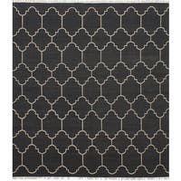 ecarpetgallery Ankara Kilim Grey Wool Kilim Rug