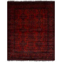 ecarpetgallery Finest Khal Mohammadi Red  Wool Rug (5'2 x 6'6)