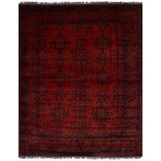 ecarpetgallery Finest Khal Mohammadi Red Wool Rug