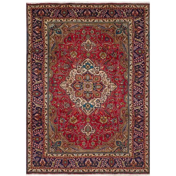 ecarpetgallery Persian Vintage Red Wool Rug
