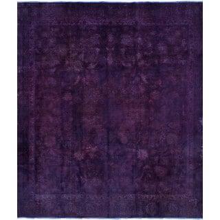 ecarpetgallery Persian Vogue Purple  Wool Rug (8'8 x 10'5)