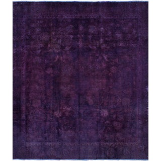 ecarpetgallery Persian Vogue Purple Wool Rug (8'8 x 10'5)