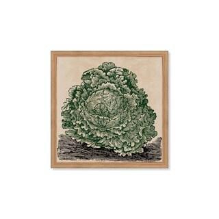 Oliver Gal 'Lettuce' Framed Art