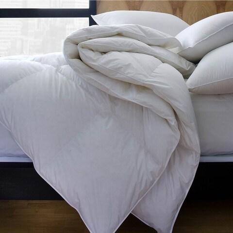 1221 Bedding Premium Luxury German Batiste Siberian White Goose Down Comforter