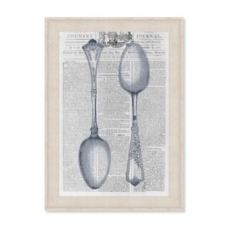 Oliver Gal 'Vintage Spoon Kitchen' Framed Art