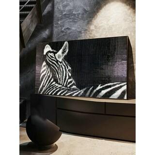ANT Tile Customizable Zebra Pattern Wall Decor Artistic Mosaic Mural