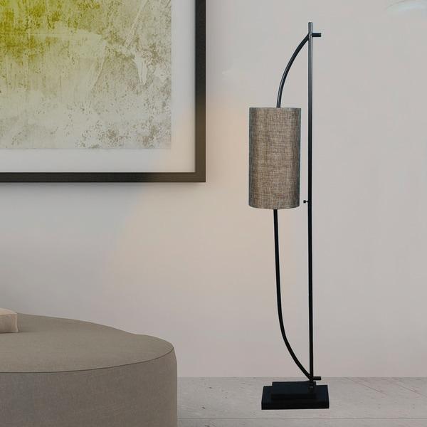 #m.r.1552 59.5 in. Metal Floor Lamp in a Bronze Finish