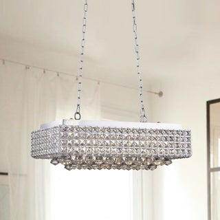 Elba 8 Light Chrome Crystal Chandelier