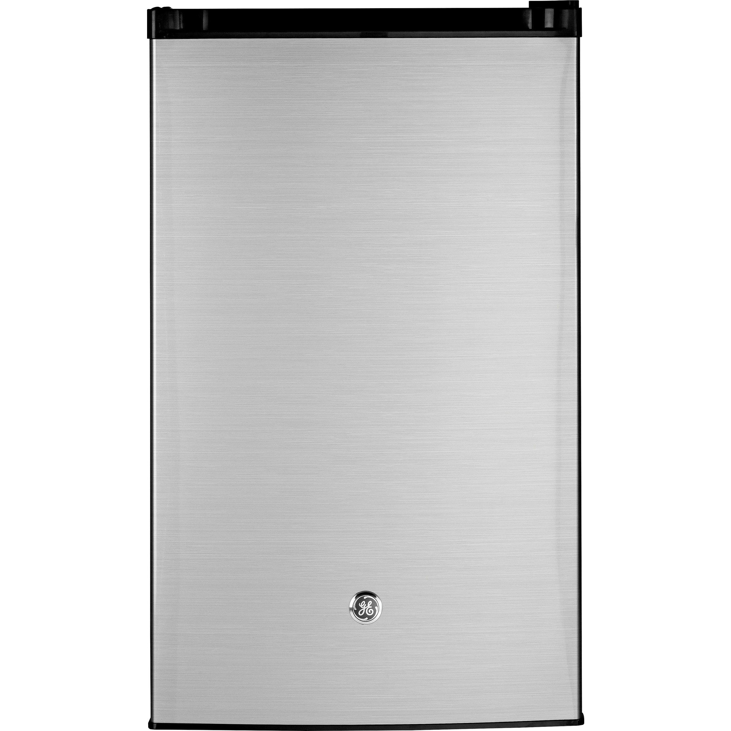 GE GE 4.4 Cu. Ft. Compact Refrigerator, Stainless Steel (...