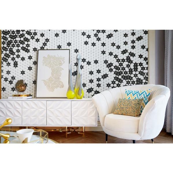 Shop ANT Tile Customizable HexaGram Pattern Art Deco Wall Tiles - Art deco mosaic tile patterns