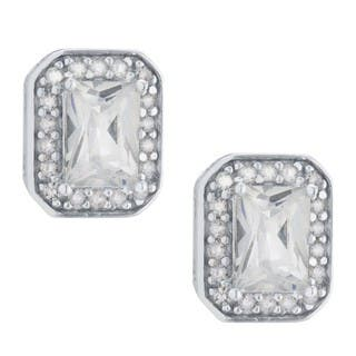 Sterling Silver Cubic Zirconia Stud Earrings https://ak1.ostkcdn.com/images/products/15999864/P22393500.jpg?impolicy=medium