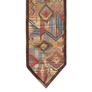 HiEnd Accents Southwest Patchwork Multicolor Runner Rug (6' x 1'2)