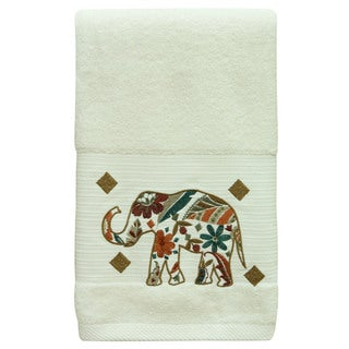 Boho Elephant Towel Set by Bacova (2 options available)