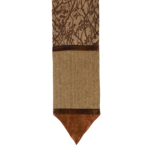 HiEnd Accents Highland Multicolored 14-inch x 20-inch Lodge Runner