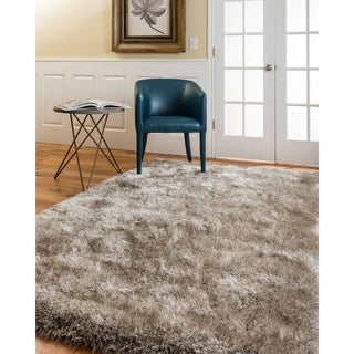 Natural Area Rugs Atlas Shag Polyester Rug Plus, (5' x 8')