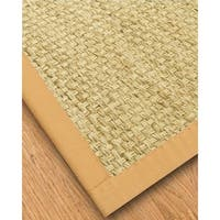 Natural Area Rugs Handcrafted Palmas Natural Seagrass Rug - Tan Binding Plus (9' x 12')