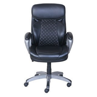 Serta Accucell Manager Chair in Black