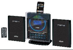 Jensen Wall-mountable iPod Docking Digital Music System with CD Player