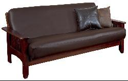 Faux Leather Futon Cover Free Shipping On Orders Over