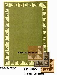 Indoor/ Outdoor Greek Key Area Rug (9'6 x 12'9) - Thumbnail 1