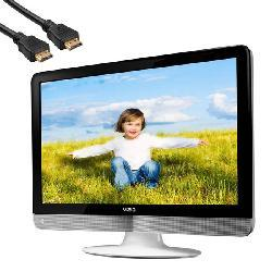 VIZIO VX240M 24-inch 1080p LCD HDTV with HDMI Cable (Refurbished)